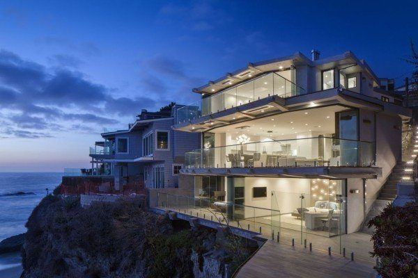 featured posts image for Transparent three-level Laguna Beach house with modern interiors