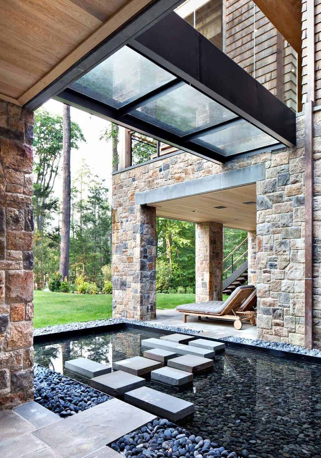 Modern Lake House-Workshop APD-19-1 Kindesign