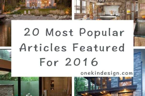 featured posts image for 20 Most popular articles featured on One Kindesign for 2016