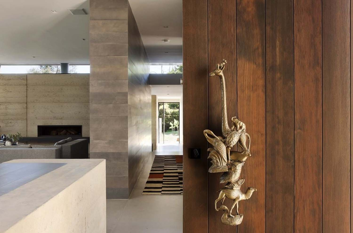 Rammed Earth House-Robson Rak Architects-05-1 Kindesign