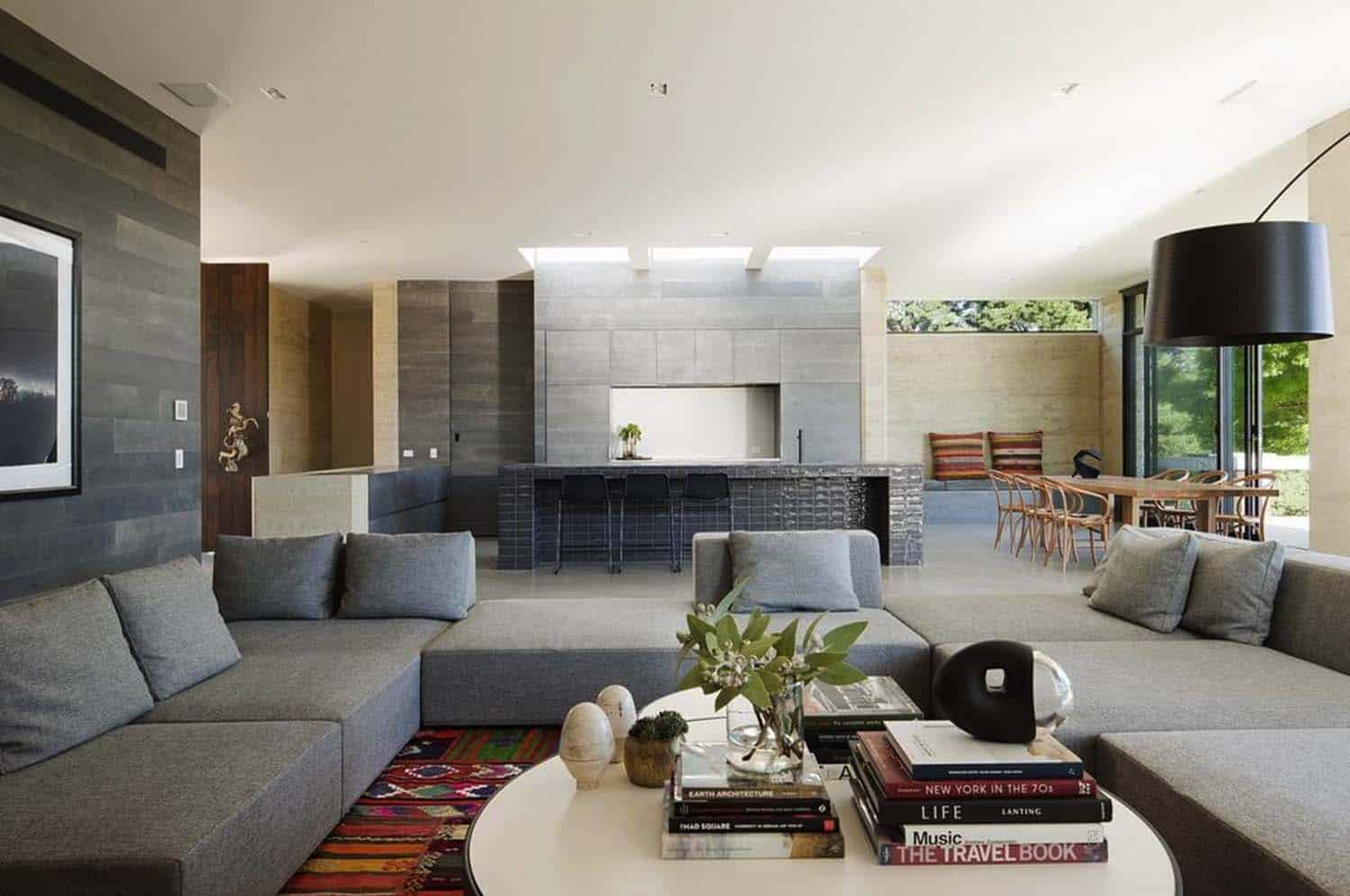 Rammed Earth House-Robson Rak Architects-08-1 Kindesign