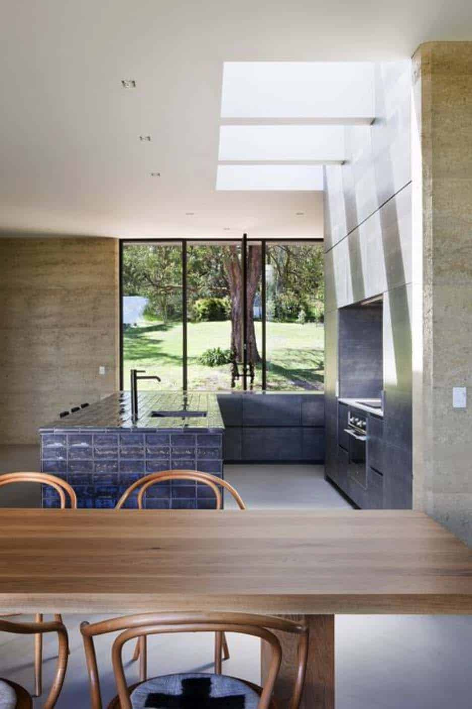 Rammed Earth House-Robson Rak Architects-10-1 Kindesign