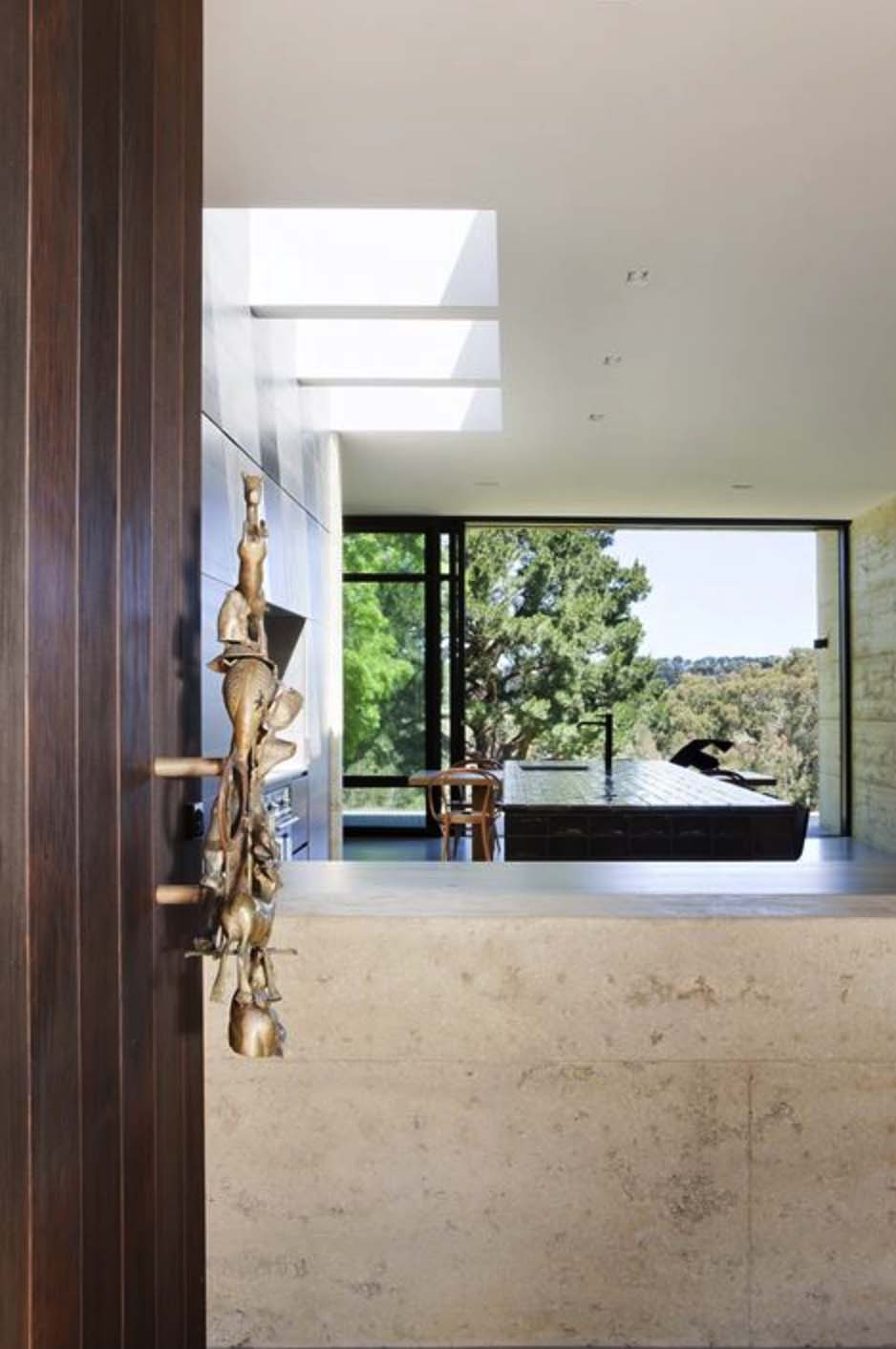 Rammed Earth House-Robson Rak Architects-19-1 Kindesign