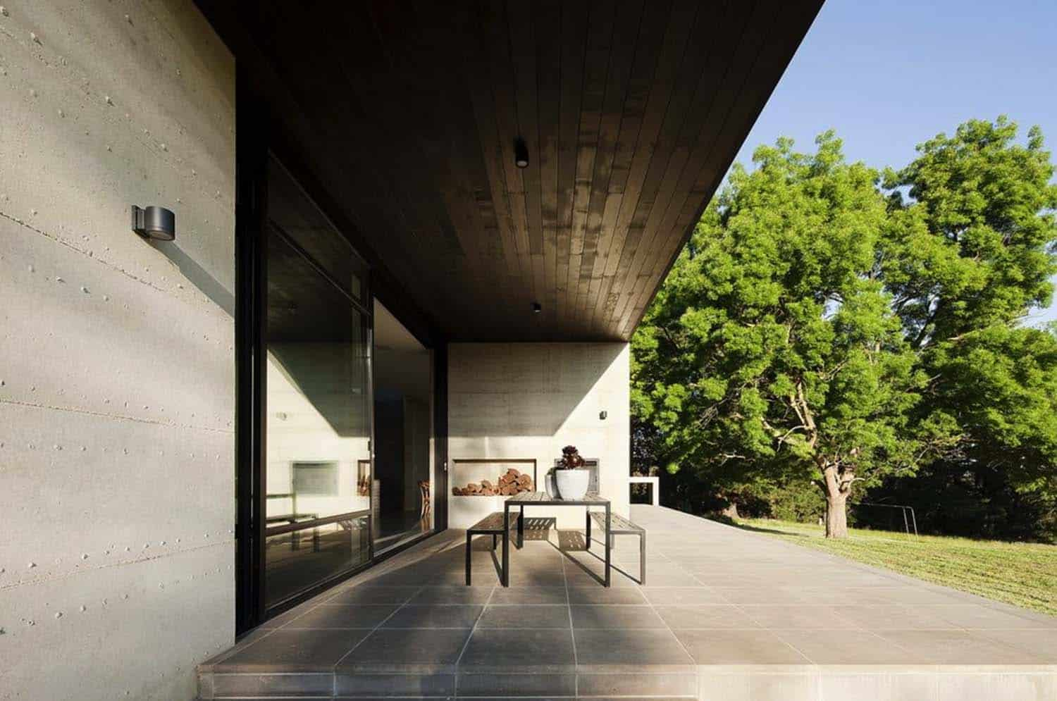 Rammed Earth House-Robson Rak Architects-21-1 Kindesign