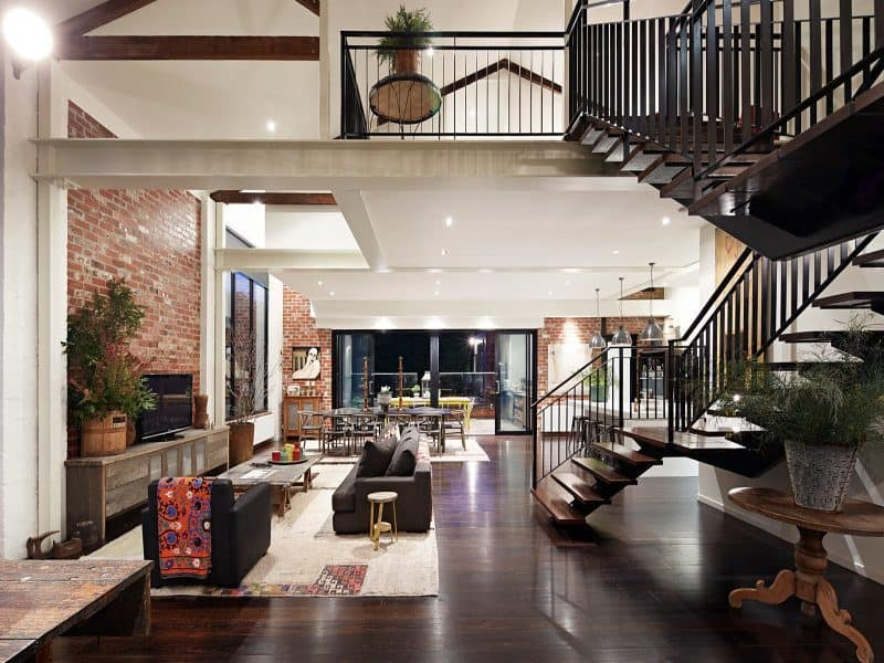 New York Inspired Warehouse Conversion In Melbourne