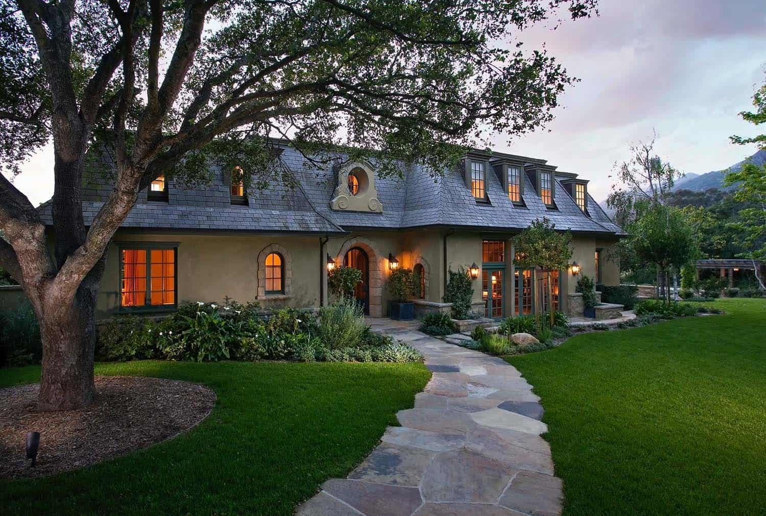 Ultra Charming French Country Home In Montecito California
