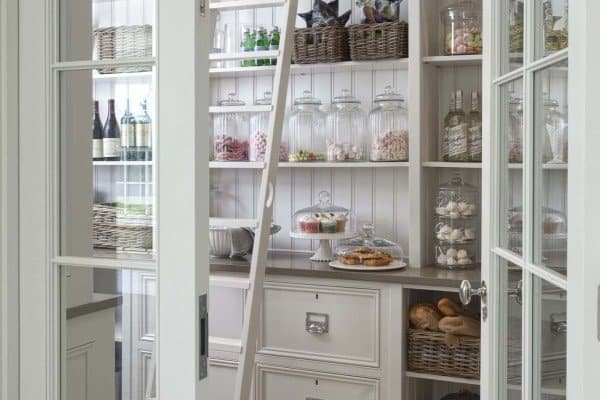 featured posts image for 35 Clever ideas to help organize your kitchen pantry