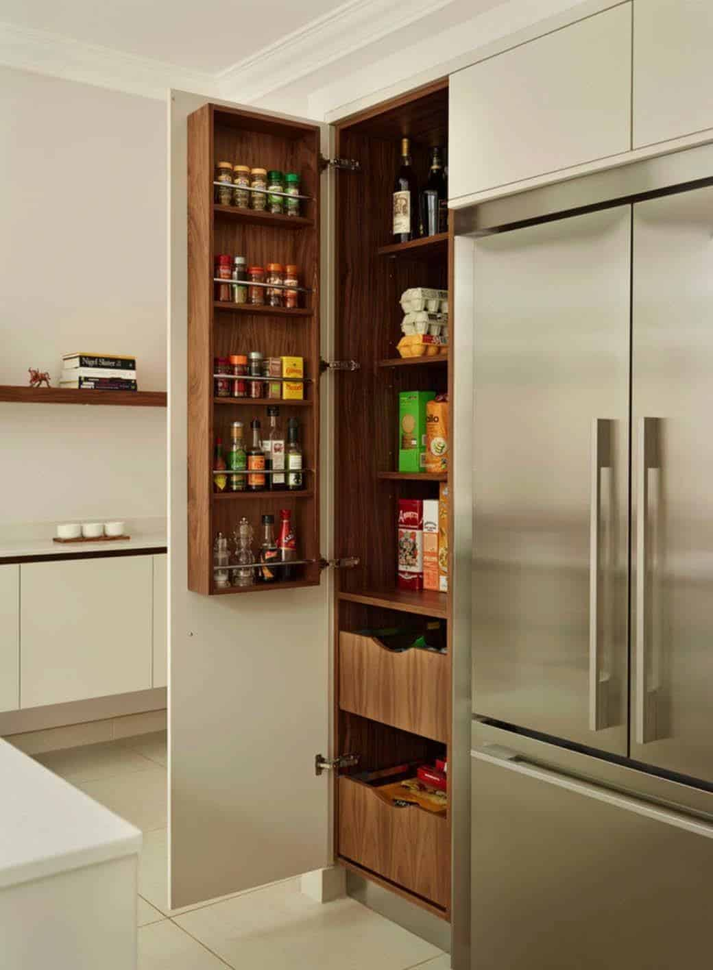 Attractive Kitchen Pantry Ideas 11 1 Kindesign