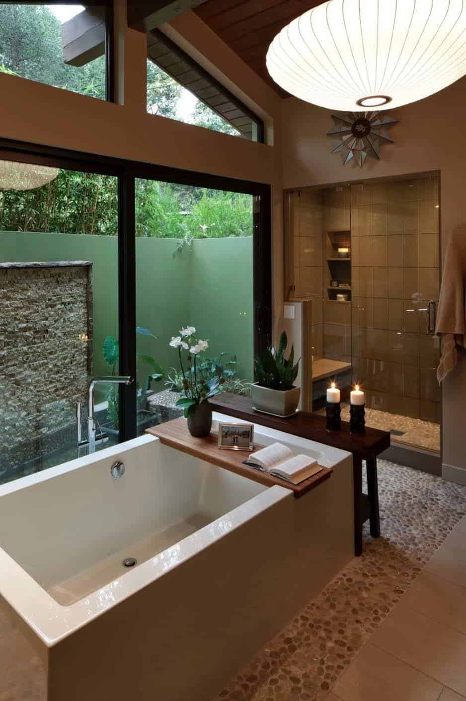 37 amazing mid century modern bathrooms to soak your senses for Modern style decor