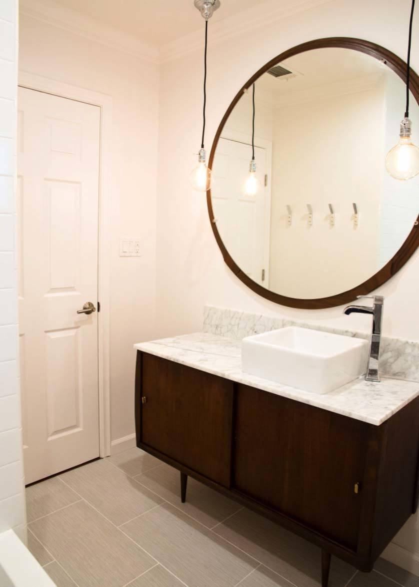 Mid-Century Modern Bathroom Ideas-12-1 Kindesign