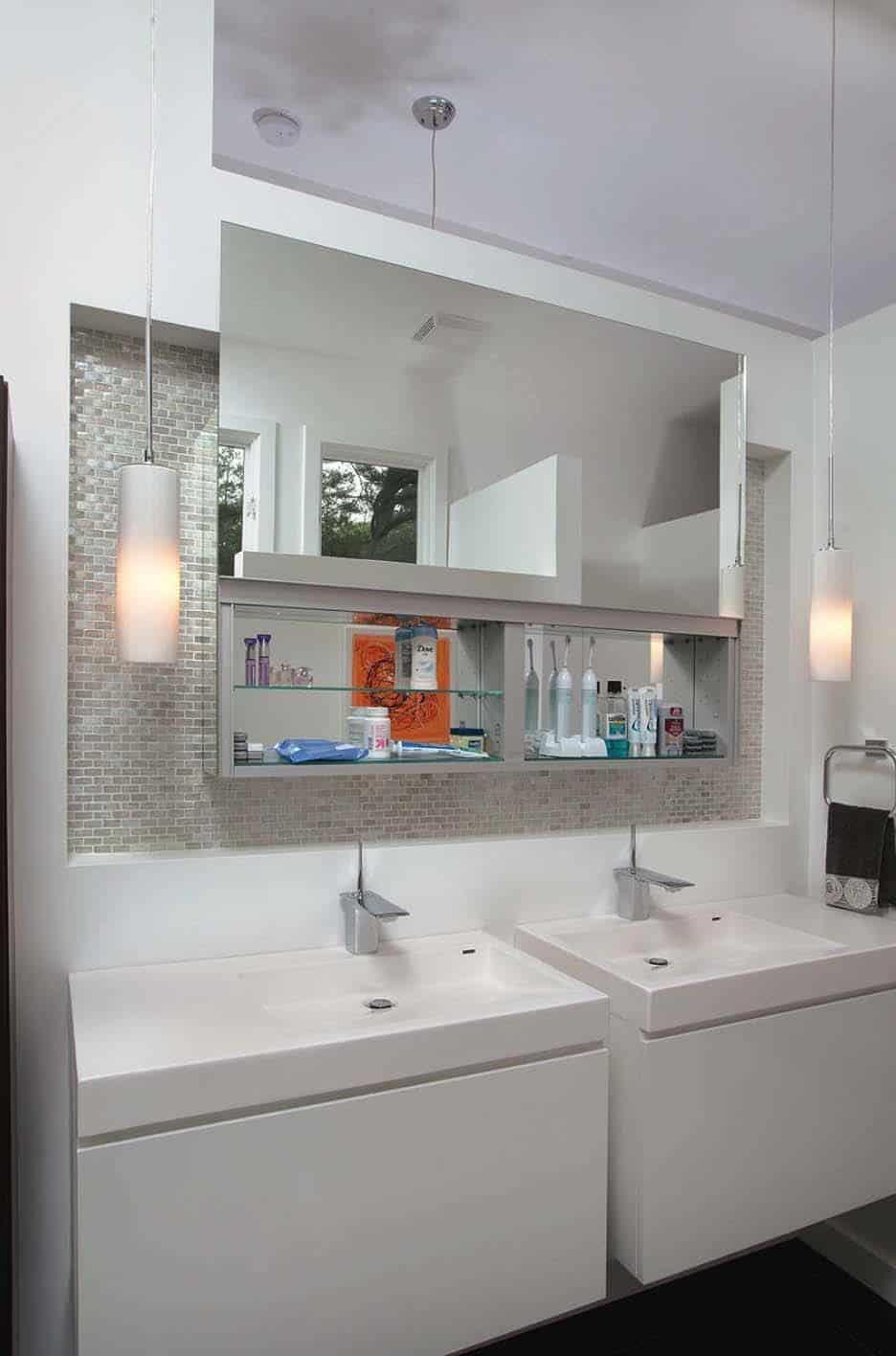 Mid-Century Modern Bathroom Ideas-18-1 Kindesign