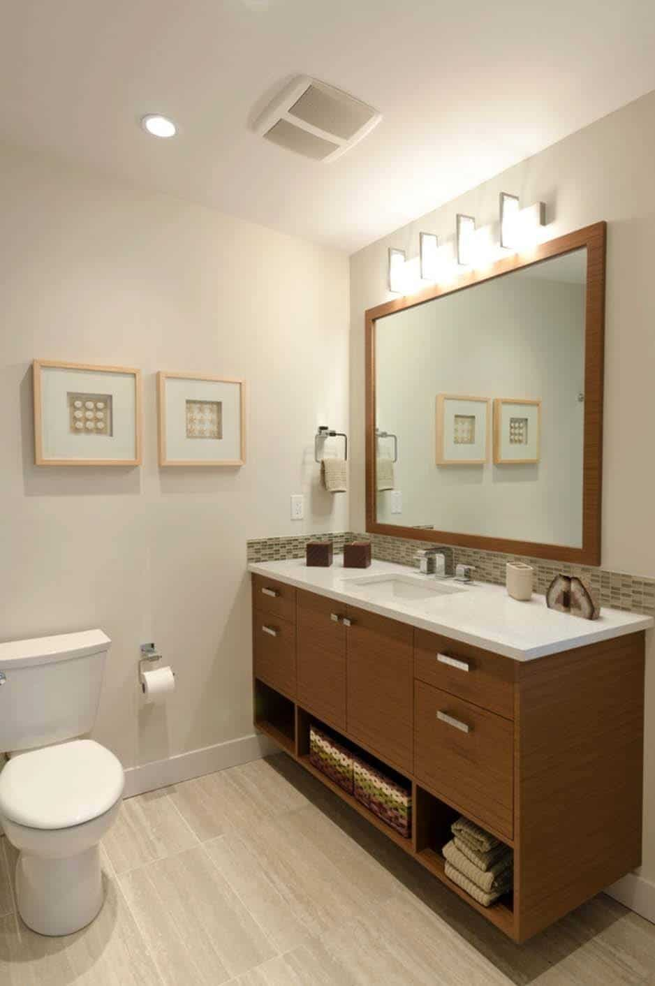 37 amazing mid century modern bathrooms to soak your senses for Modern bathroom designs 2016