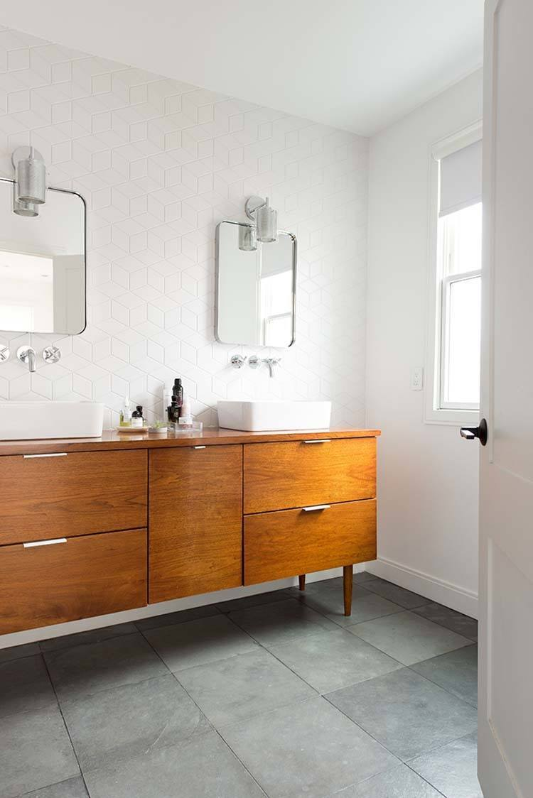 Modern Bathroom Design Ideas Pictures Tips From Hgtv: 37 Amazing Mid-century Modern Bathrooms To Soak Your Senses