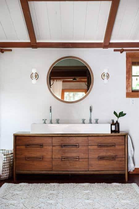 Mid-Century Modern Bathroom Ideas-28-1 Kindesign