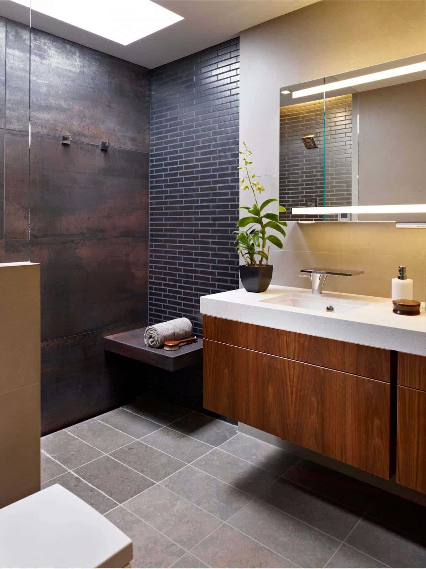 Superior Mid Century Modern Bathroom Ideas Part - 8: Mid-Century Modern Bathroom Ideas-33-1 Kindesign