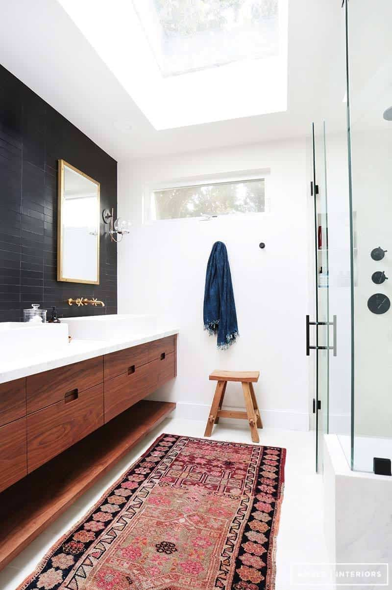 37 amazing mid century modern bathrooms to soak your senses. Black Bedroom Furniture Sets. Home Design Ideas