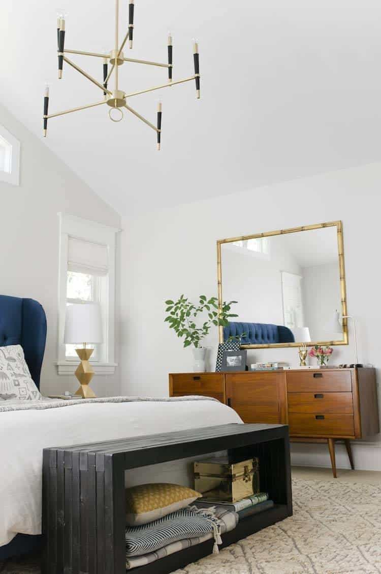 feminine decorating mid modern ideas midcentury bedroom century
