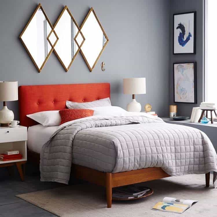 Bedroom Ideas 2016 Bedroom Chairs Dublin Design Of Kids Bedroom Elegant Bedroom Color Ideas: 35 Wonderfully Stylish Mid-century Modern Bedrooms