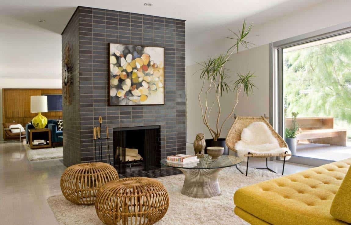 Image of: Playfully Designed Mid Century Ranch House In Brentwood