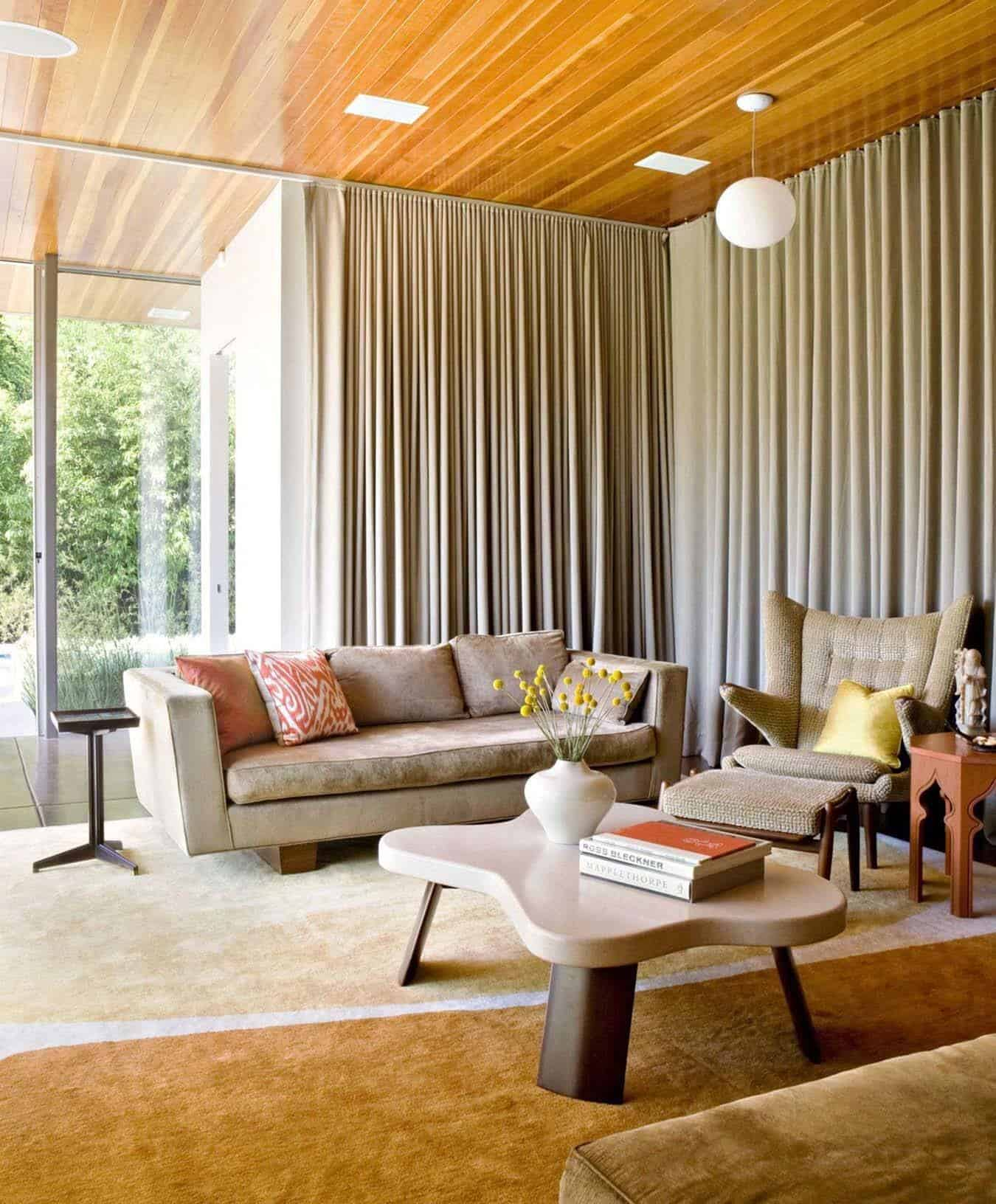 Mid Century Modern Home Designs: Playfully Designed Mid-century Ranch House In Brentwood