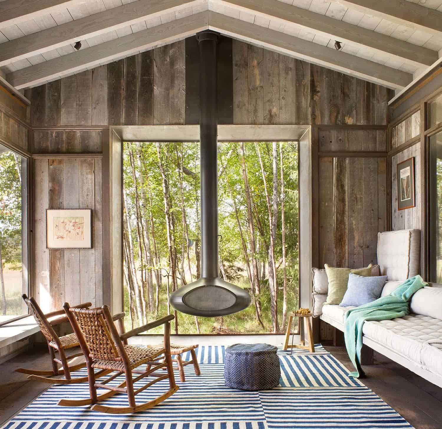 Modern-Rustic Cabin-Pearson Design Group-02-1 Kindesign