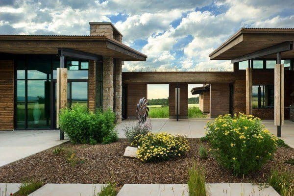 featured posts image for Visionary residence in Idaho comprised of rammed earth