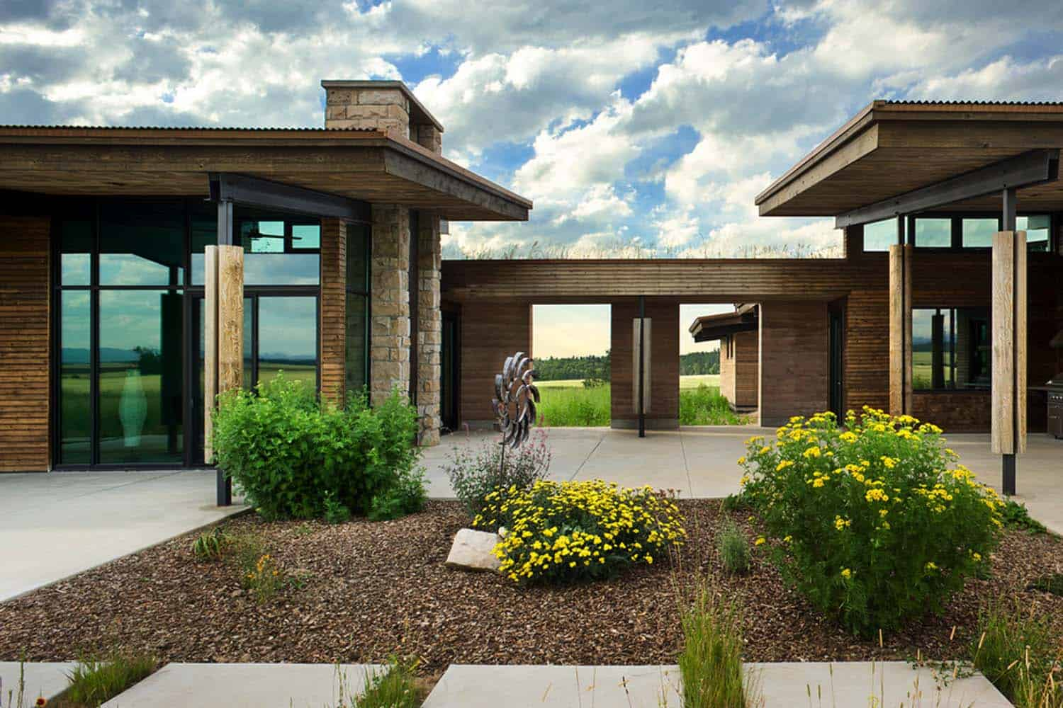 Visionary residence in Idaho comprised of rammed earth on modern icf house plans, modern stone house plans, modern clerestory house plans, modern design house plans, modern house house plans, modern cinder block house plans, modern stucco house plans, modern prefab house plans, modern green house plans, modern adobe house plans, modern timber frame house plans, modern california house plans, modern steel house plans, modern solar house plans, modern brick house plans, modern bamboo house plans, modern building house plans, modern underground house plans, modern studio house plans, modern log house plans,