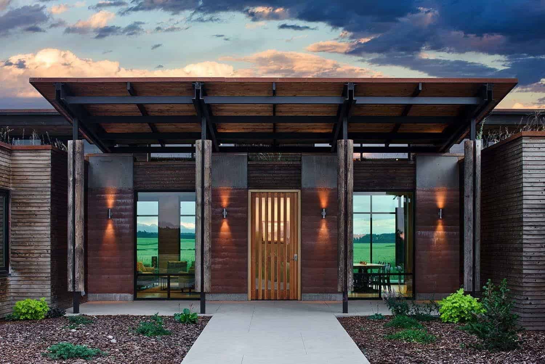 Rammed Earth House-Ward Blake Architect-02-1 Kindesign