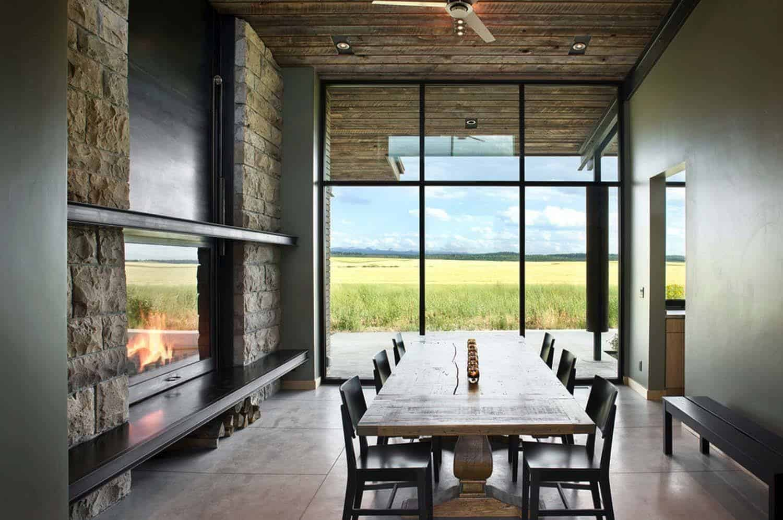 Rammed Earth House-Ward Blake Architect-06-1 Kindesign