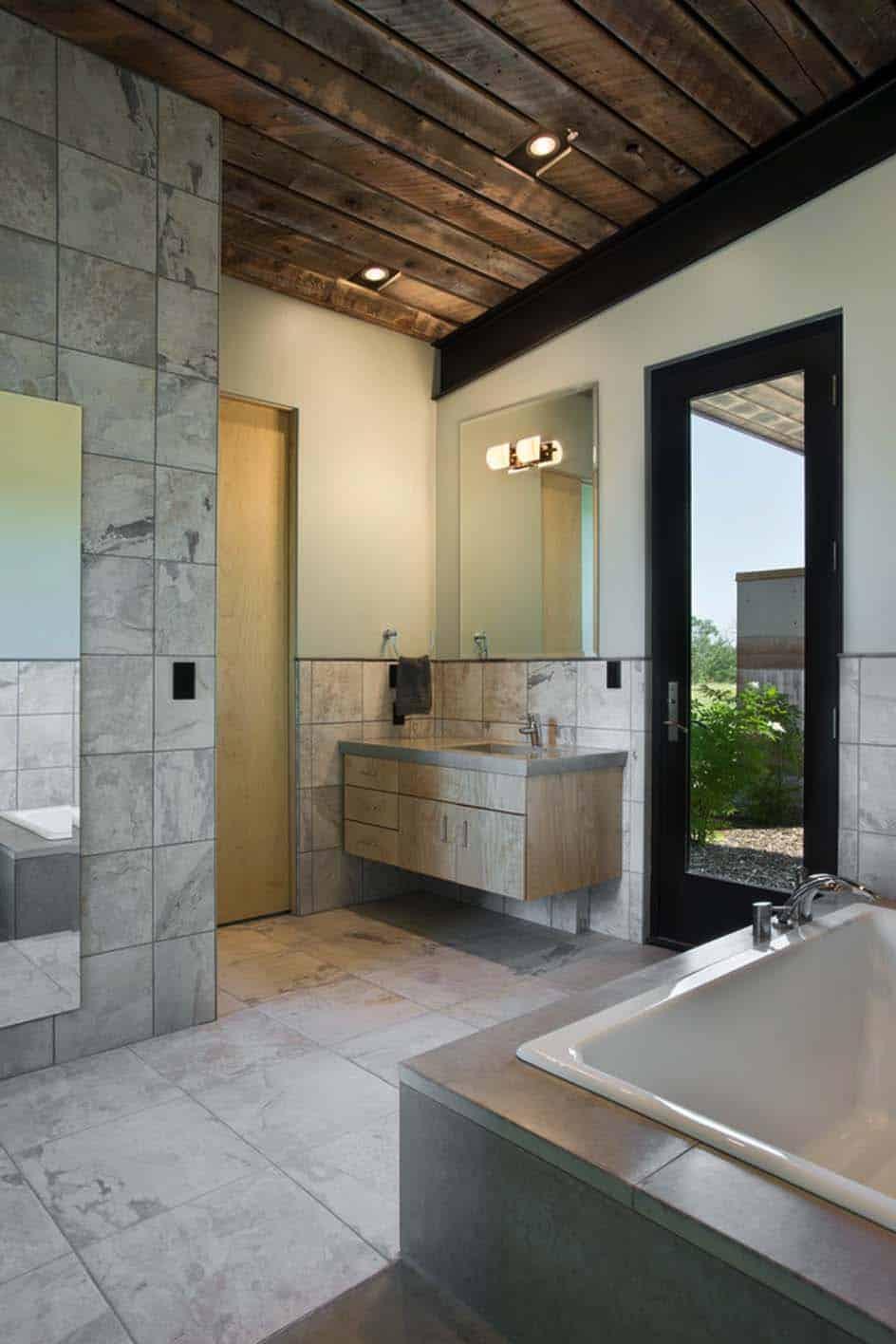 Rammed Earth House-Ward Blake Architect-09-1 Kindesign