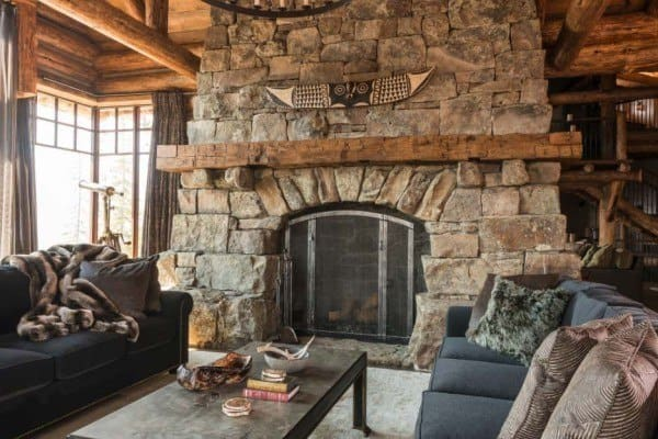 featured posts image for Rustic Montana mountain retreat offers a haven of relaxation