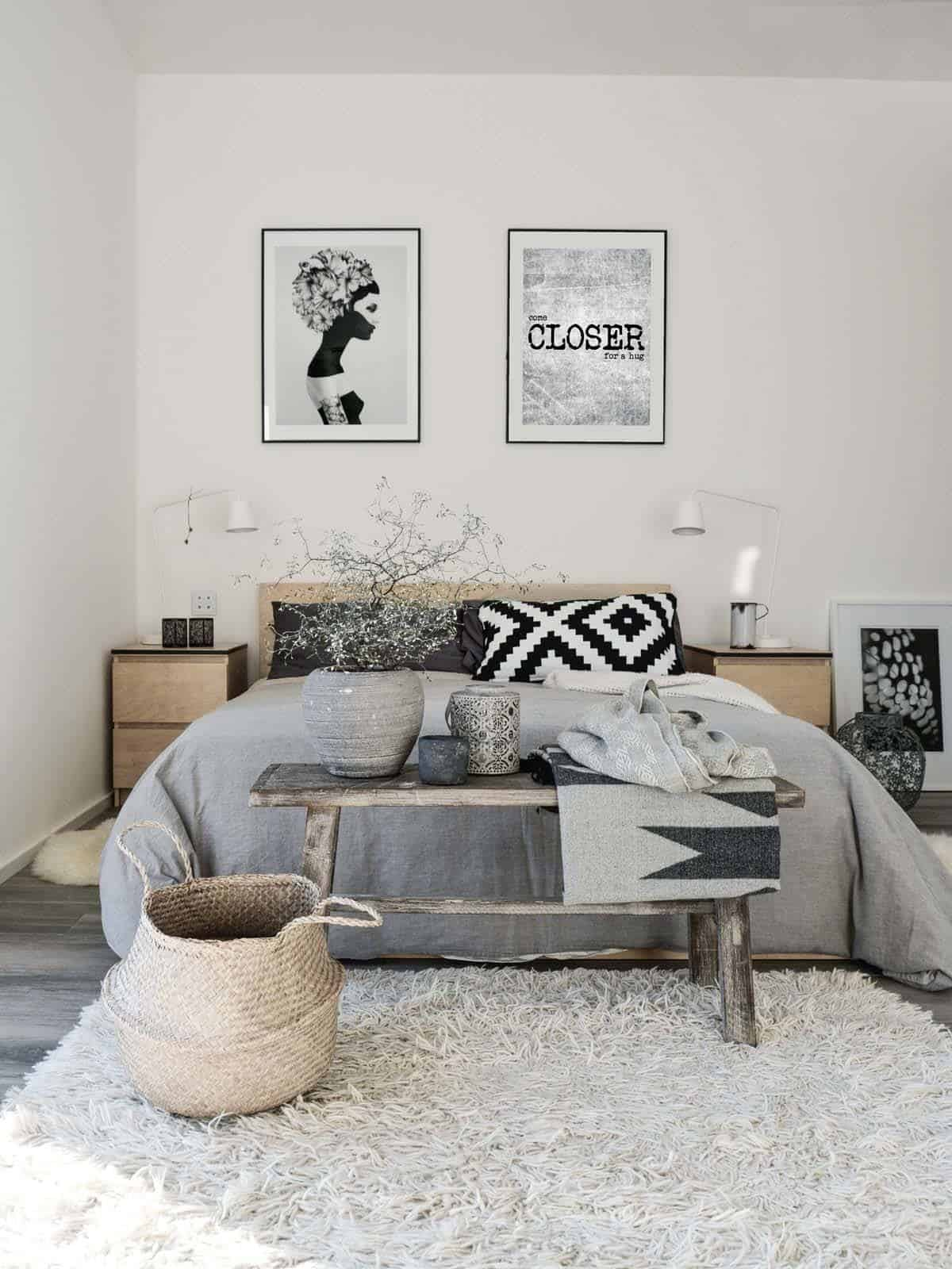 Scandinavian Bedroom Furniture.  45 Scandinavian bedroom ideas that are modern and stylish