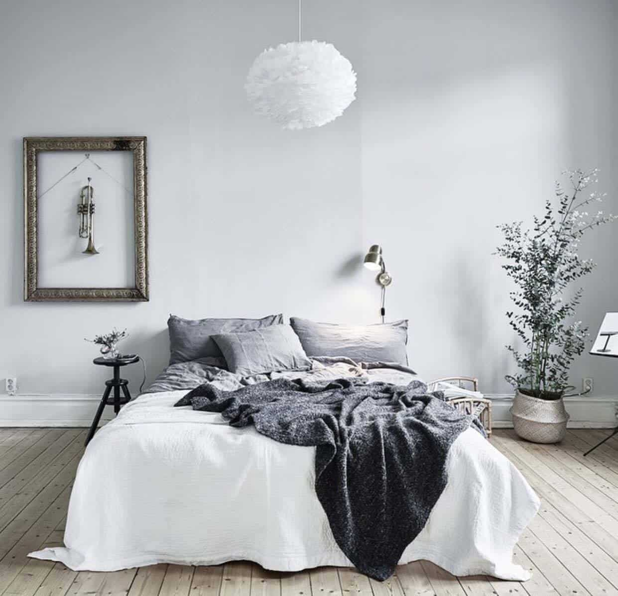 45 scandinavian bedroom ideas that are modern and stylish for Bedroom stuff