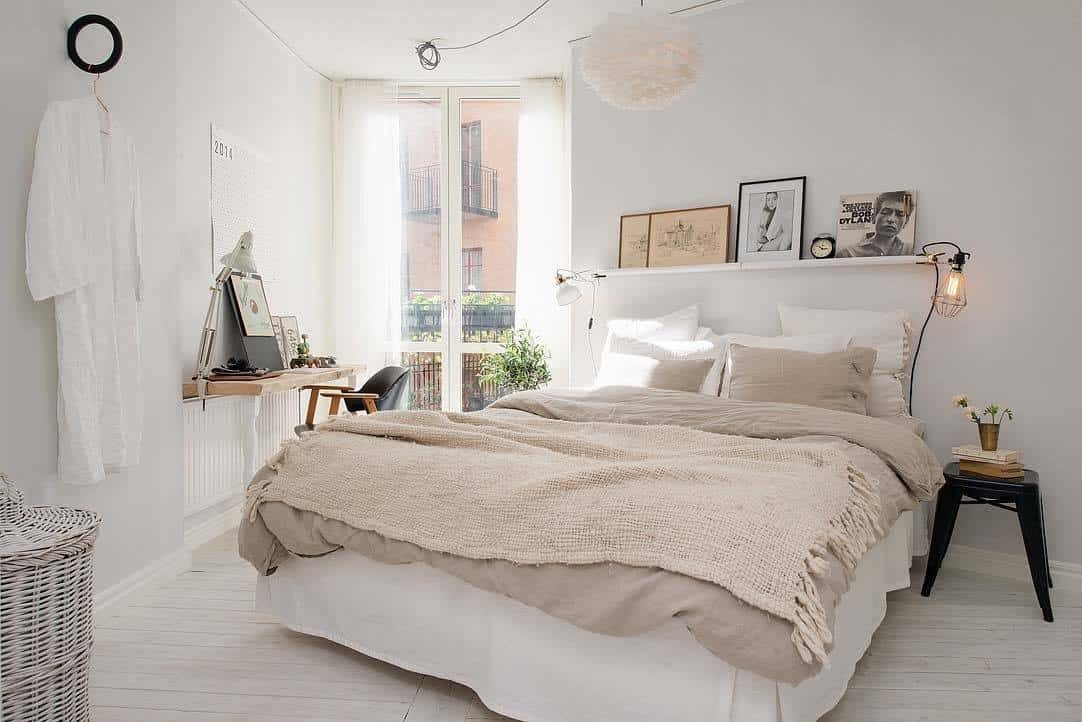 Scandinavian Bedroom Ideas-31-1 Kindesign