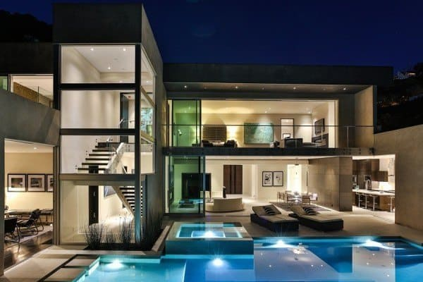 featured posts image for Opulent living with extensive views over the Sunset Strip