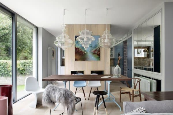 featured posts image for Beautifully remodeled family home in Dublin evokes moody blues