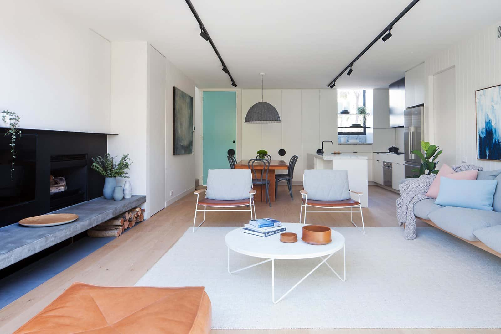 Contemporary Townhouse-Nixon Tulloch Fortey-07-1 Kindesign