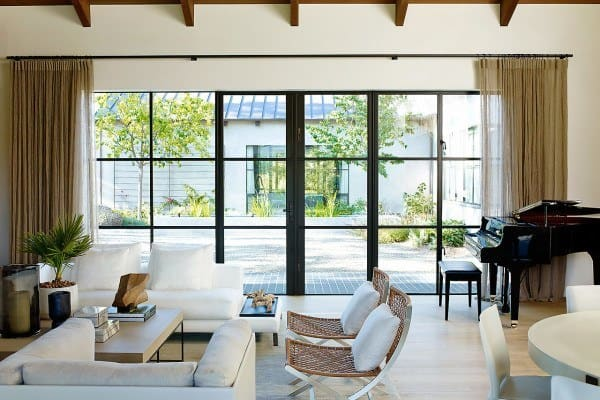 featured posts image for Courtyard house showcases an elegant, timeless aesthetic