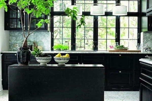 featured posts image for 43 Dramatic black kitchens that make a bold statement