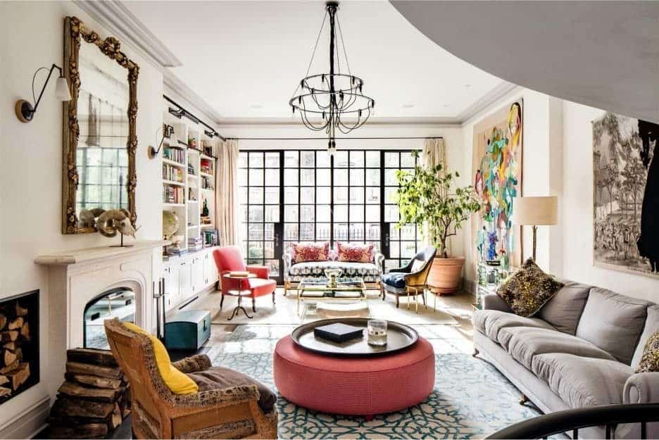 Interior Design Furniture New York City ~ Luxurious new york city townhouse with astounding design