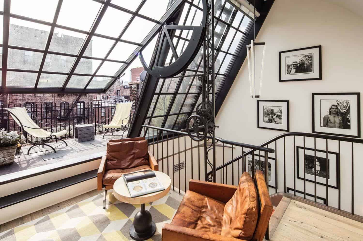 Greenwich Village Townhouse-23-1 Kindesign