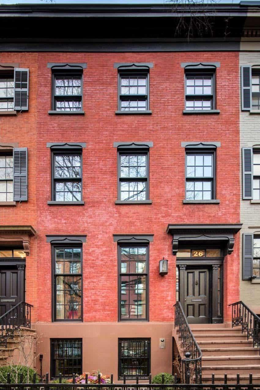 Luxurious New York City Townhouse With Astounding Design
