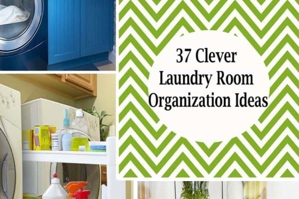 featured posts image for 37 Amazingly clever ways to organize your laundry room