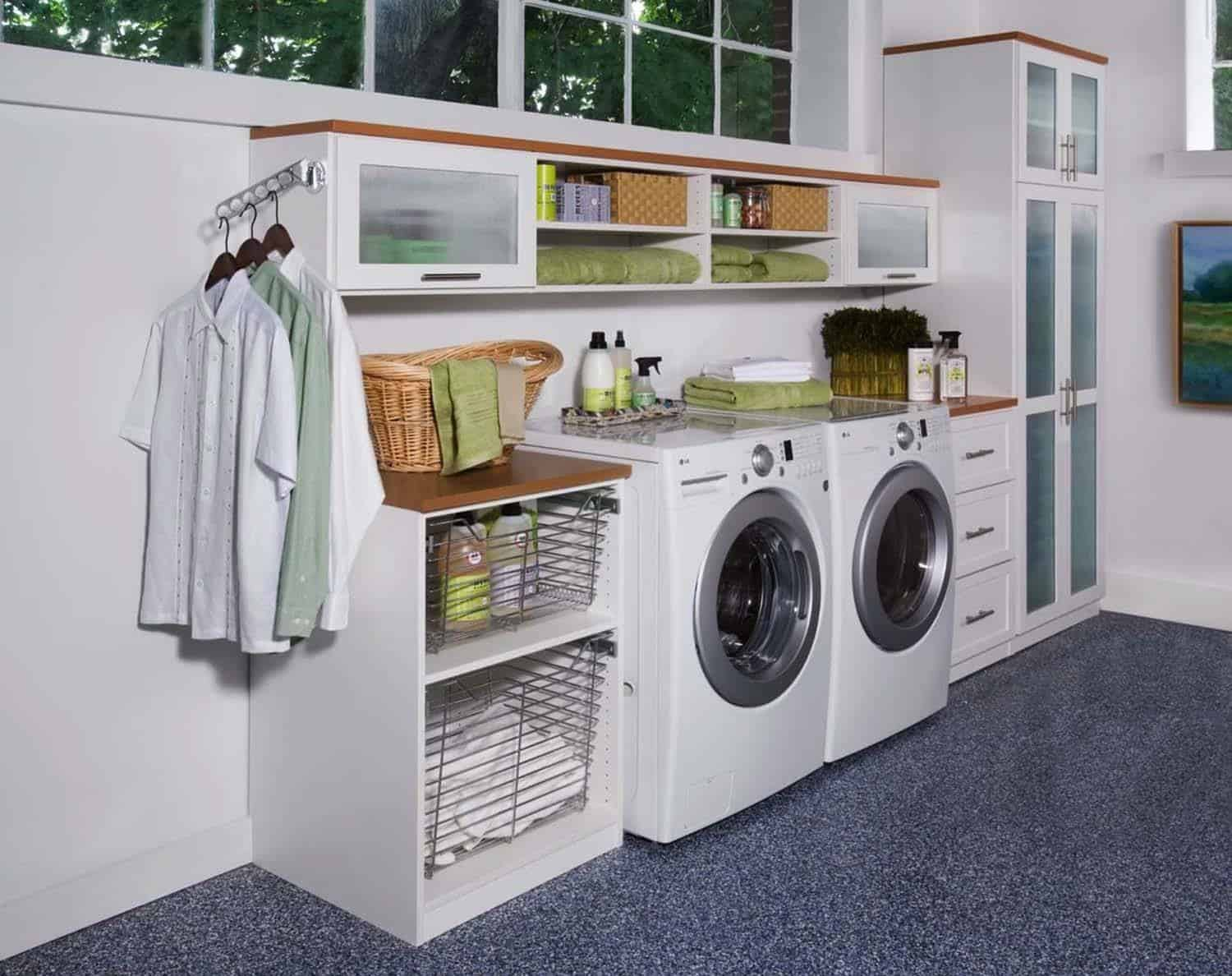 Laundry Room Organization Ideas-05-1 Kindesign