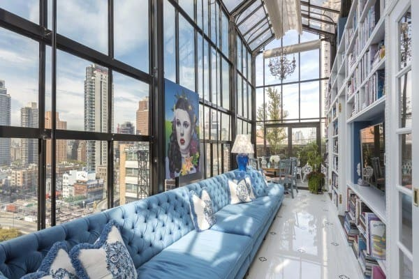 featured posts image for Extraordinary pre-war penthouse overlooking New York City