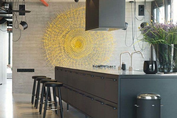 featured posts image for Visually striking industrial loft-style home in Tel Aviv