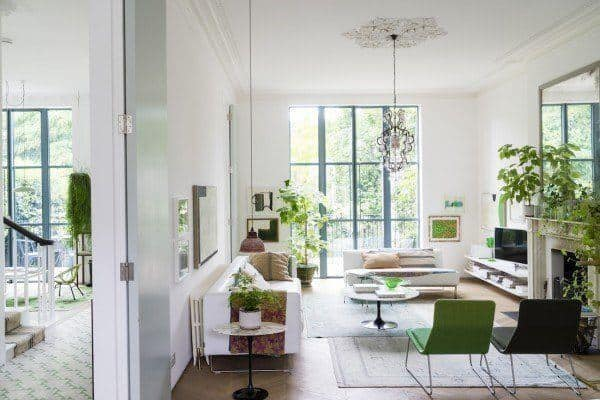 featured posts image for A luminous Victorian home filled with plants in London