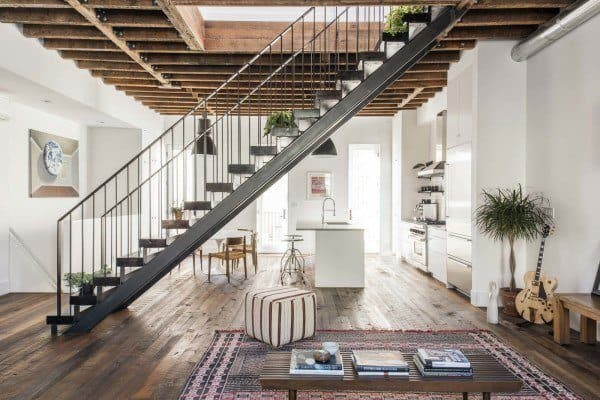 featured posts image for Contemporary townhouse in New York features loft-like aesthetic