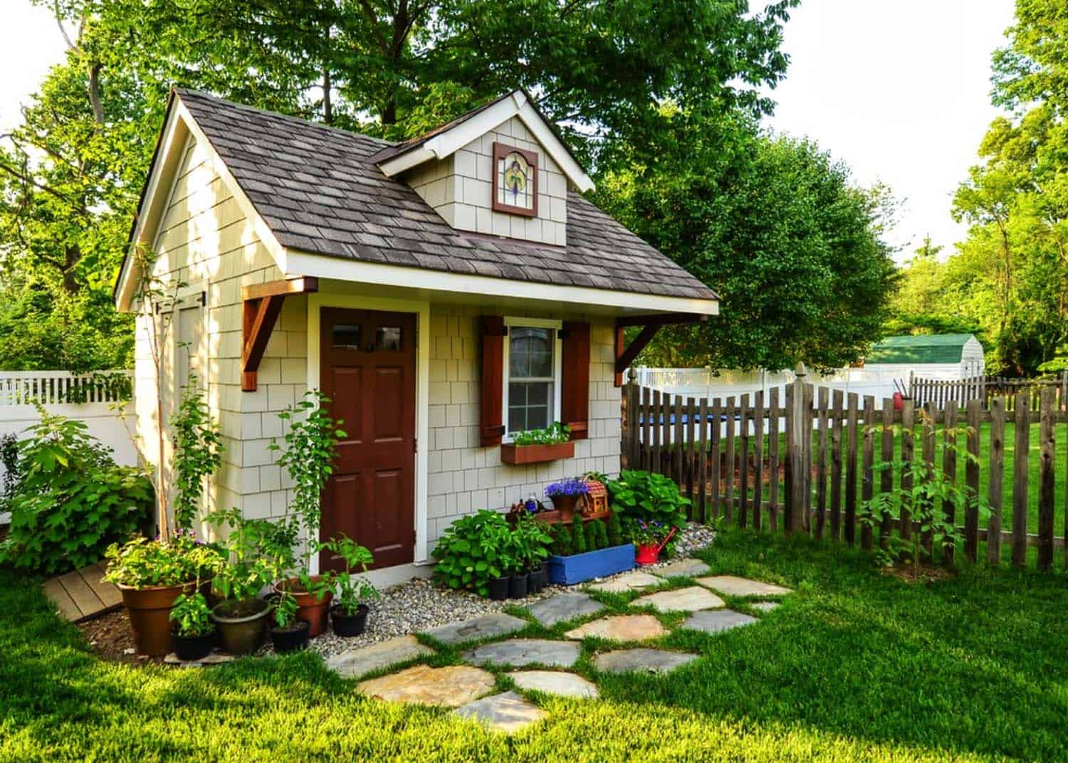 40 simply amazing garden shed ideas