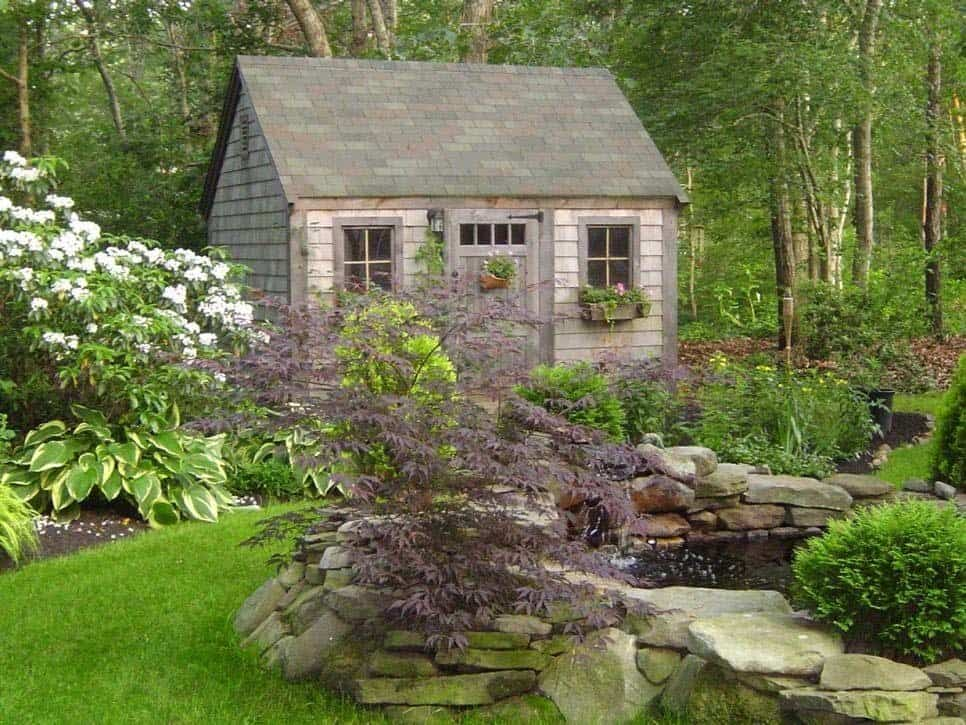 40 simply amazing garden shed ideas for 38 garden design ideas
